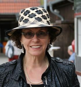 Zwei begeisterte Hut-Träger im Sommer 2014